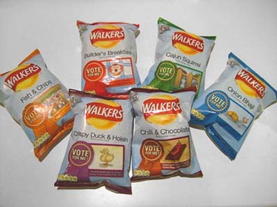 6 new Walkers flavours