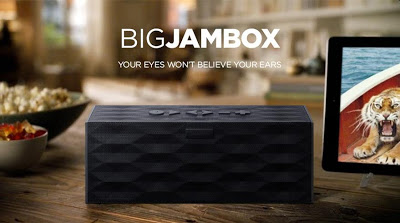 The Big Jambox strapline is lovely