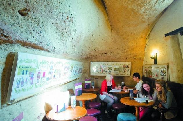 Ye Olde Trip to Jerusalem cave Nottingham